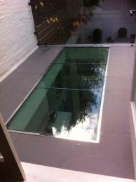 Frameless Roof lights